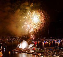 Sydney, New Years 2009 by robertt