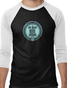 New Orleans Banjo Blues Men's Baseball ¾ T-Shirt