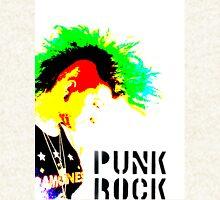 Punk Rock Mohawk Zipped Hoodie