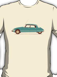 Blue Ride of the Retro Future T-Shirt