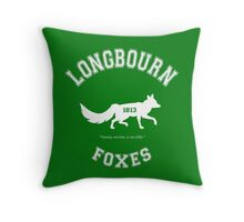 Longbourn Foxes - Pride and Prejudice - Team Bennet Throw Pillow