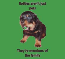 Rottweilers Are Family Kids Clothes