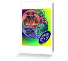 sphere mania Greeting Card