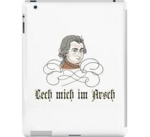 Mozart - Leck mich im Arsch iPad Case/Skin