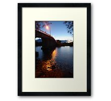 Dumaresque Bridge Framed Print