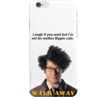 Maurice Moss The IT Crowd iPhone Case/Skin