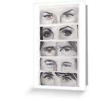 Once Upon A Time Eyes Greeting Card