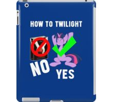 How Do I Twilight? iPad Case/Skin