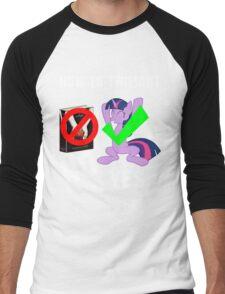 How Do I Twilight? Men's Baseball ¾ T-Shirt