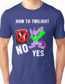 How Do I Twilight? Unisex T-Shirt