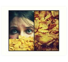 Cornflakes! Art Print