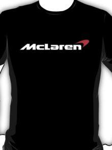 Mclaren Supercar Logo White T-Shirt