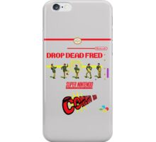 "Drop Dead Fred ""16 Bit"" iPhone Case/Skin"