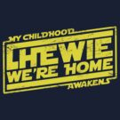 Chewie We're Home V02.5 Yellow by coldbludd