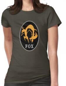 MGS - FOX Logo Womens Fitted T-Shirt