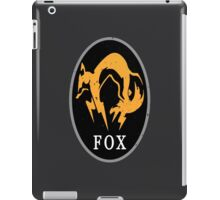 MGS - FOX Logo iPad Case/Skin