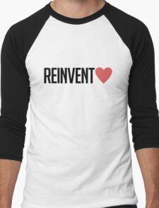 reinvent love Men's Baseball ¾ T-Shirt