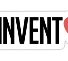 reinvent love Sticker