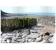 Lynmouth Beach Poster