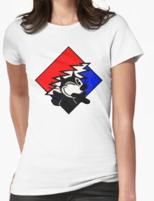 Steal your Cat Womens Fitted T-Shirt