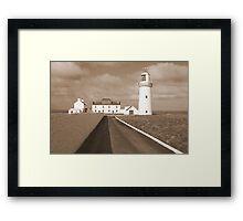 Loop Head Lighthouse Framed Print