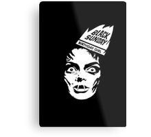 "Black Sunday ""Birthday Girl"" Metal Print"