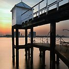 Portsmouth Pier by Andrew Walker