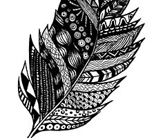 Aztec Feather by createdtocreate