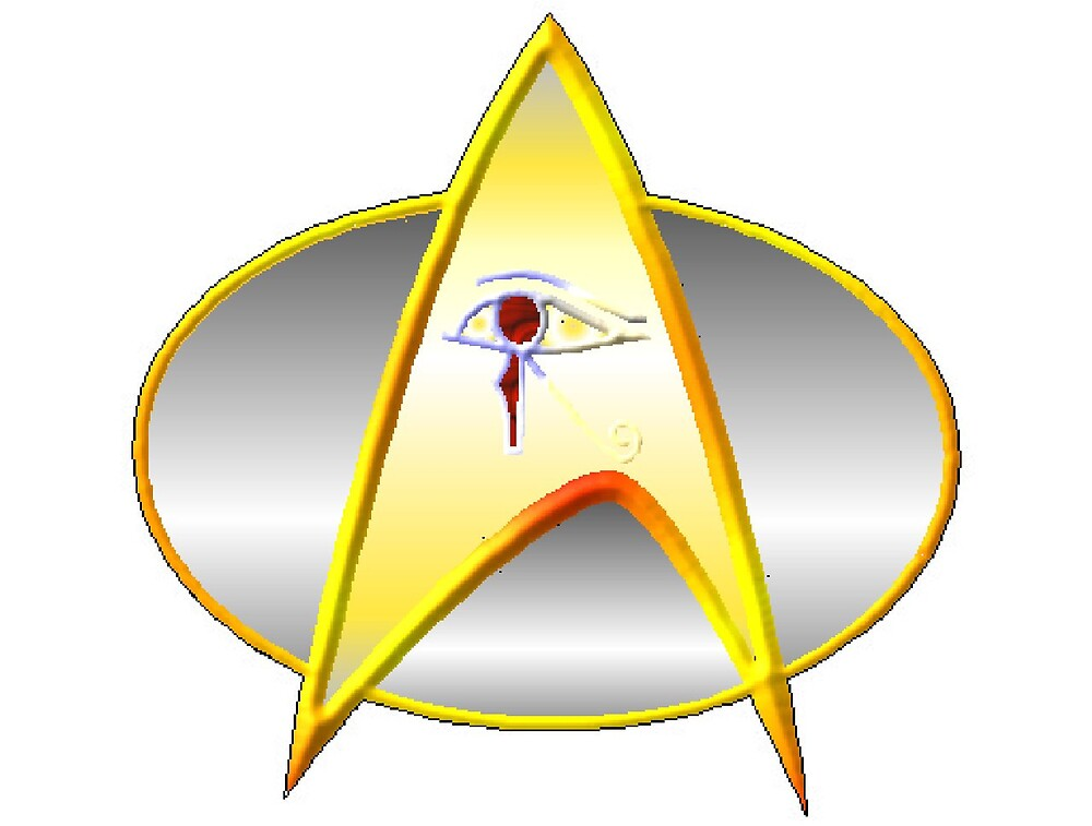 Star Trek Next Generation Archaeology Dept. Logo/Commbadge by KirneH001