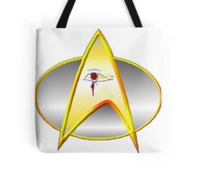 Star Trek Next Generation Archaeology Dept. Logo/Commbadge Tote Bag