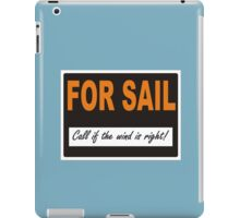 For Sail iPad Case/Skin