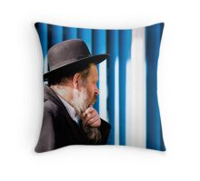 risking some holiness Throw Pillow