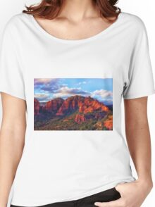 Cliffs of Sedona at Sunset Women's Relaxed Fit T-Shirt
