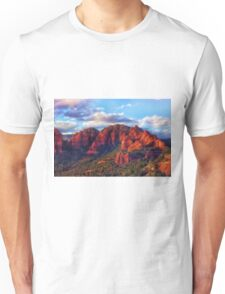 Cliffs of Sedona at Sunset Unisex T-Shirt