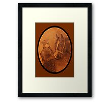 A soldiers best friend Framed Print