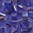 Blue Mosaic by Sue Cotton
