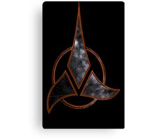 Klingon Space Canvas Print