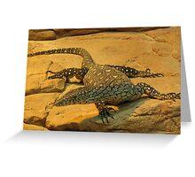 Lizard Dragon Greeting Card