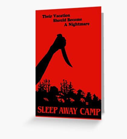 Sleepaway Camp Vintage Greeting Card