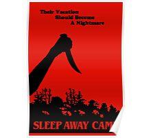 Sleepaway Camp Vintage Poster