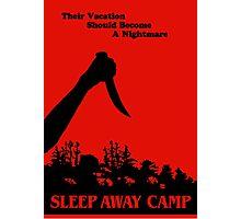 Sleepaway Camp Vintage Photographic Print