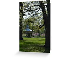 Tower Grove Park in Spring Greeting Card