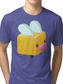 Square, Cube Bee Tri-blend T-Shirt