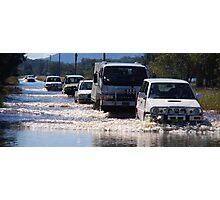 Harrington Road Flooded Photographic Print