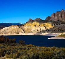 Blue Mesa Colorado by Luann wilslef