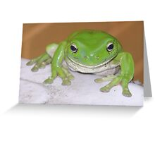 Kermit Greeting Card