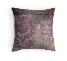 Keep you in all your ways... Throw Pillow