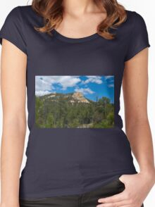 The Blue Skies of Tucson Women's Fitted Scoop T-Shirt