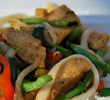 lemon grass tofu & veggies by Jeff Stroud