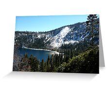 Beautiful South Lake Tahoe Greeting Card